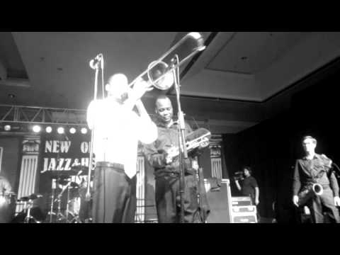 Troy Andrews, 2b, new Orleans jazz festival gala 2012, 04 26 2012