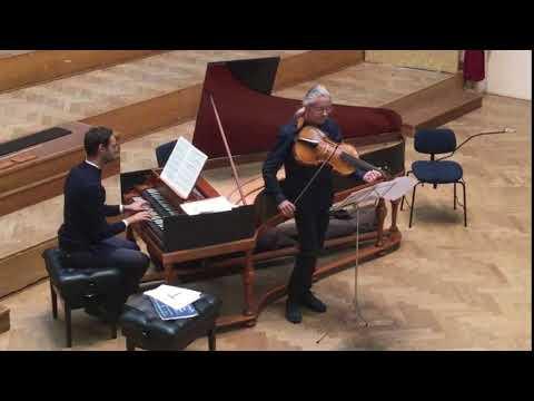 F. Fernandez / B. Alard - J.S. Bach : Sonate en sol mineur BWV 1030a