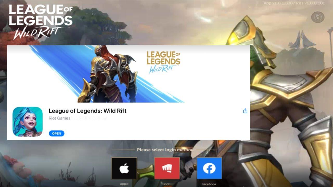 COMO descargar LOL MOBILE para iOs - League Of Legends Wild Rift BETA para iOs!