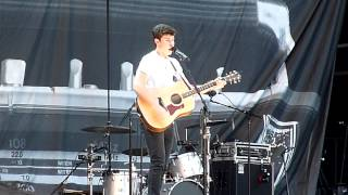 "Shawn Mendes performing ""Stitches"" live @ Levi Stadium in Santa Clara CA on August 14, 2015"