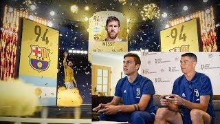 FAMOUS Footballer Who SECRETLY Play FIFA 19! (Messi, Mbappe, Ronaldo)