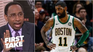 Kyrie Irving has to be more sensitive with the Celtics – Stephen A. | First Take