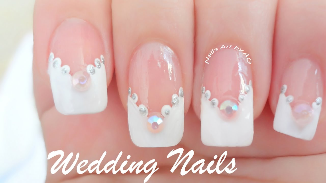 Decoraci n de u as para novias youtube for Decoracion de unas con esmalte