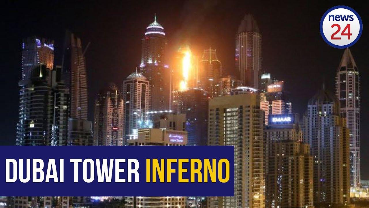 Fire rips through Torch Tower in Dubai