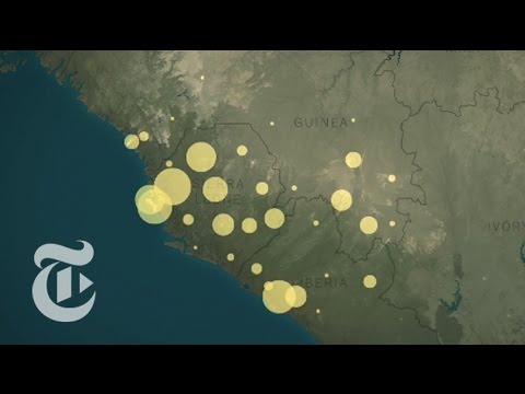 The Path of the Ebola Virus Outbreak | The New York Times
