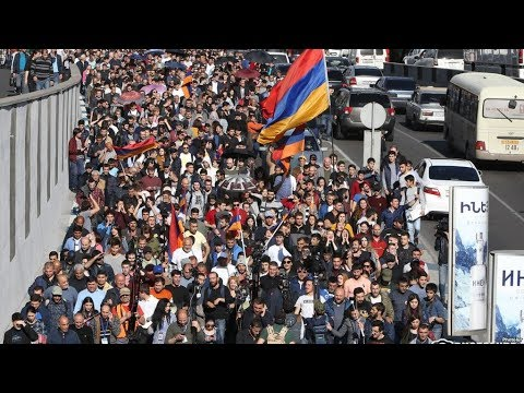 В Ереване - акция гражданского неповиновения / Новости