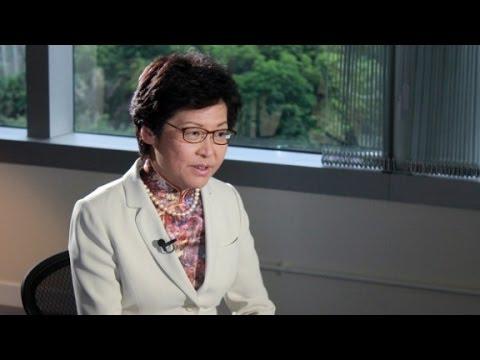 Next Hong Kong leader on missing bookseller