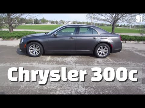 2017 Chrysler 300c // review, walk around, and test drive // 100 rental cars