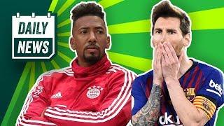 FC Bayern: DFB-Pokalsieger & Hoeneß rät Boateng zu Transfer! Radikalschnitt bei Barcelona!