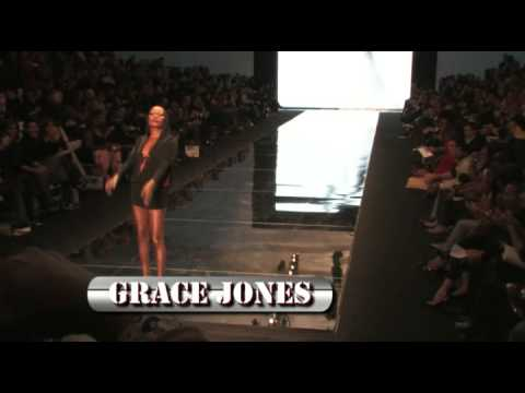 GRACE JONES AT IMG / MERCEDES BENZ FASHION WEEK FALL 2009 COLLECTIONS IN NEW YORK CTIY
