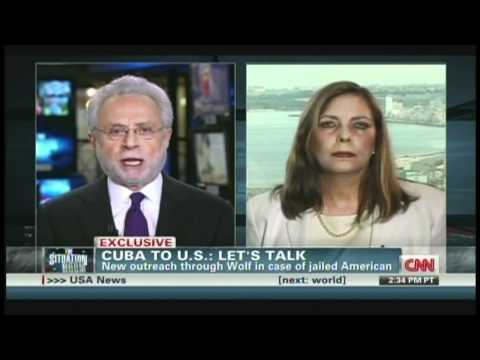 Josefina Vidal Cuban Foreign Ministry Interview with Wolf Blitzer Havana Cuba (May 10, 2012)