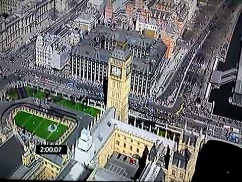 London Marathon 2013. Men´s race