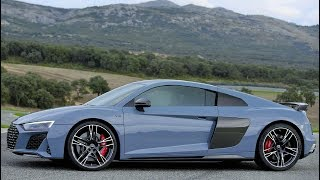 2019 Grey Audi R8 V10 - High-Performance Supercar