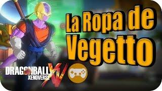 COMO CONSEGUIR LA ROPA DE VEGETTO | DRAGON BALL XENOVERSE