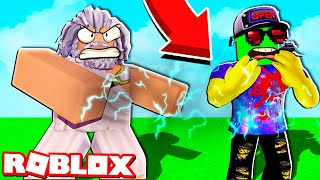 WHAT IS THIS BOSS DOING?! How to DEFEAT ZEUS and Pick up a NEW WEAPON? SIMULATOR PITCHING in Roblox