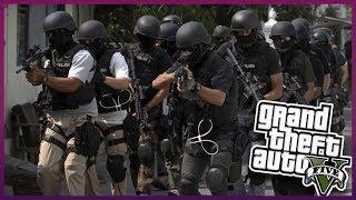 Jandarma Özel Harekat Baş Komutanı Uyuşturucu ve Silah Tüccarlarına Baskın - GTA 5 ROLE PLAY