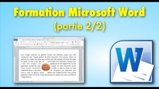 Cours / Formation Microsoft Word (partie 2/2)