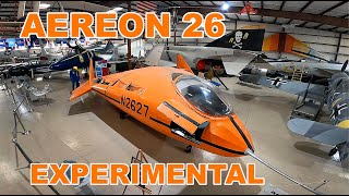 Aereon 26 Deltoid Pumpkin Seed Experimental Lifting Body Air Victory Museum Youtube