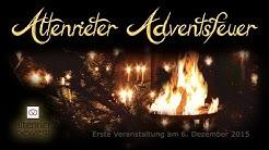Erstes Altenrieter Adventsfeuer am 6. Dezember 2015
