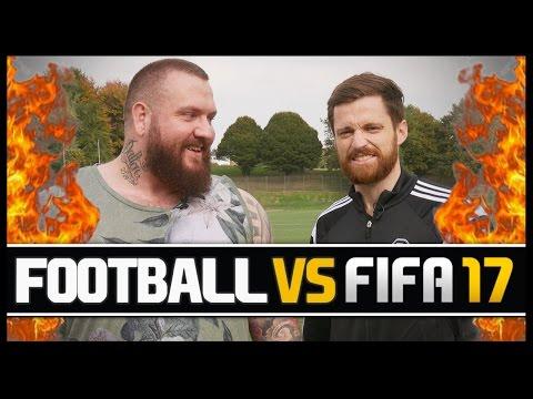 FOOTBALL VS FIFA WITH TRUE GEORDIE!