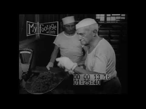 1950s Chicken, Beef, Vegetable Bouillon Cubes in NY plant
