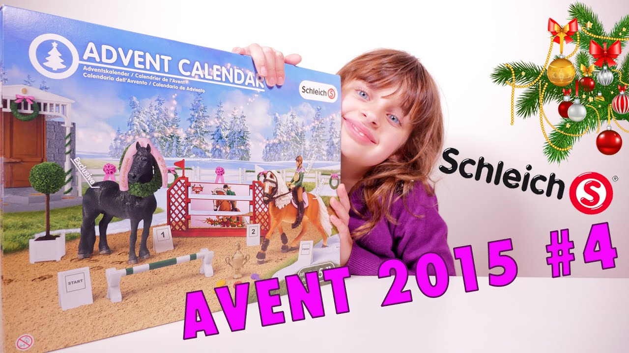 schleich calendrier 4 de l 39 avent 2015 studio bubble. Black Bedroom Furniture Sets. Home Design Ideas