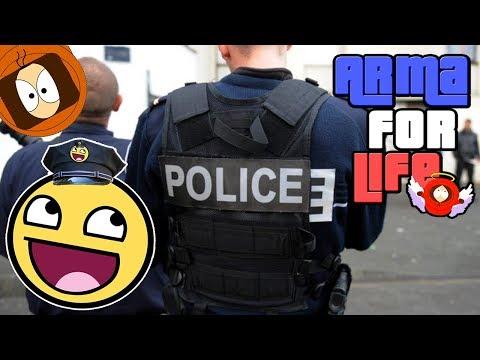 BRIGADE ANTI-CRIMINALITÉ : BRAQUAGE BANQUE DE FRANCE ! | ARMA FOR LIFE