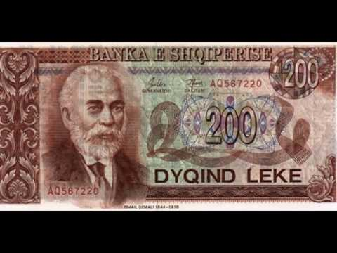 Currencies of the World: Republic of Albania; Albanian Lek (2nd Series of 1992)