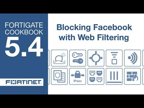 FortiGate Cookbook - Blocking Facebook (5 4) - YouTube
