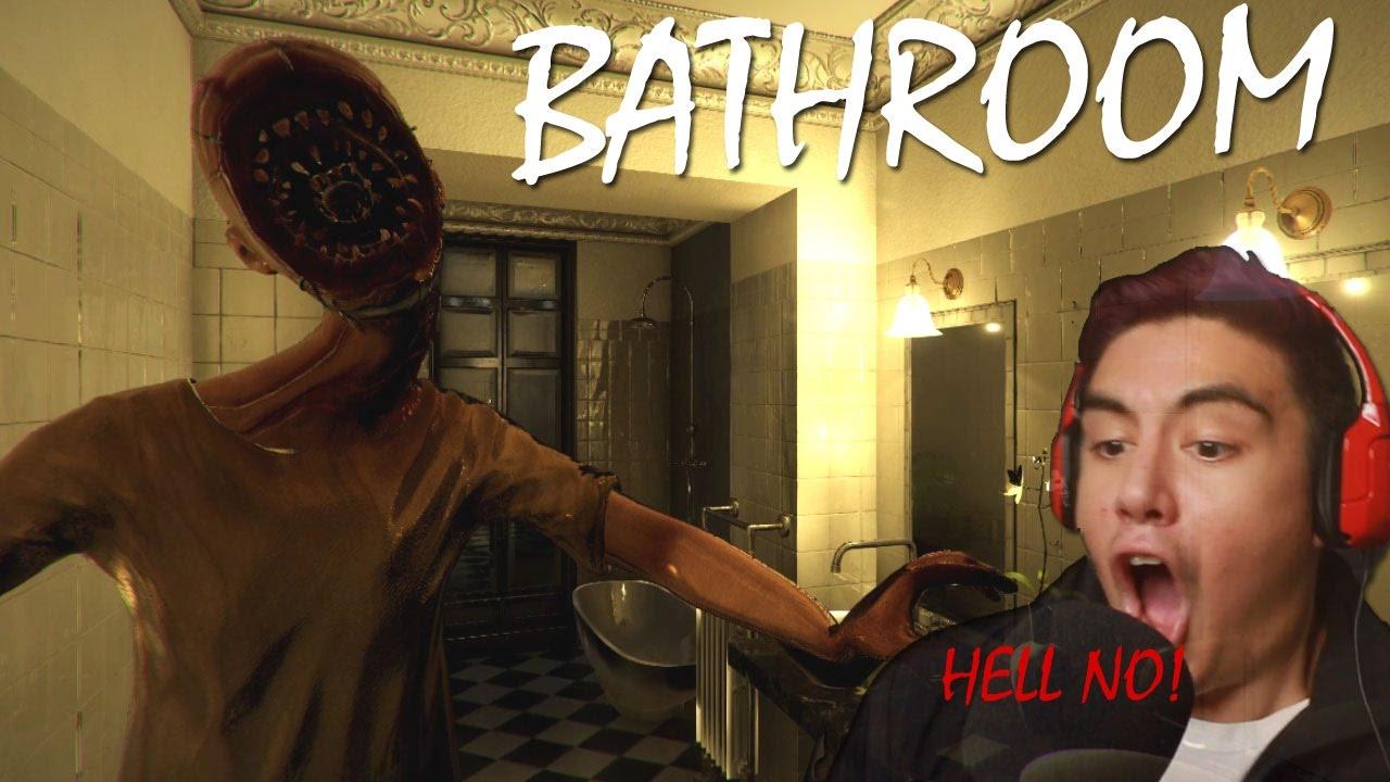 Bathroom Japanese Horror Game i'm never using the bathroom again!   bathroom (realistic japanese