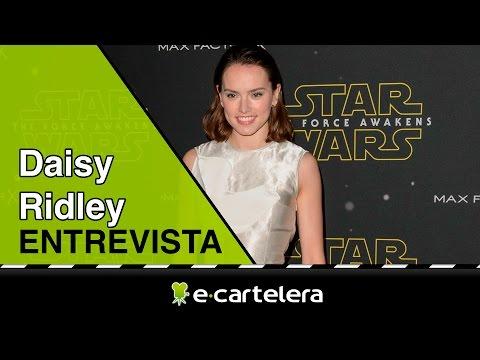 """Daisy Ridley: """"No era una fan de 'Star Wars'"""""""