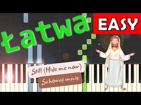 🎹 Schowaj mnie (Ja ufam Ci) - Piano Tutorial (łatwa wersja) 🎹