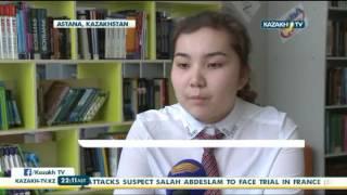 Школьница перевела первую книгу о Гарри поттере на казахский язык - Kazakh TV