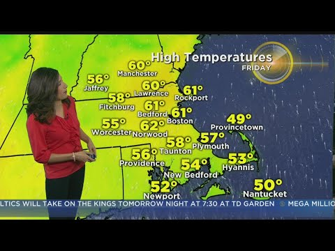 Repeat WBZ Mid Morning Forecast For April 3, 2019 by CBS Boston