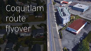 FortisBC Gas Line Upgrades: Coquitlam route flyover