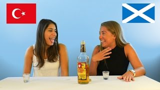 Different Countries Try Malort- The Worst Liquor Ever.