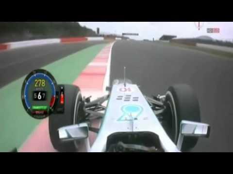 F1 2013 Silverstone Q3 - L Hamilton Pole Lap 1:29.607