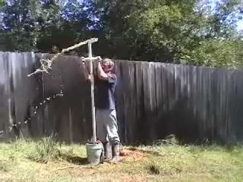 diy well drilling youtube