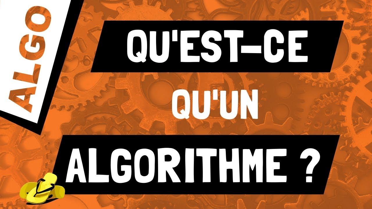Qu 39 est ce qu 39 un algorithme youtube for Qu est ce qu un bardage