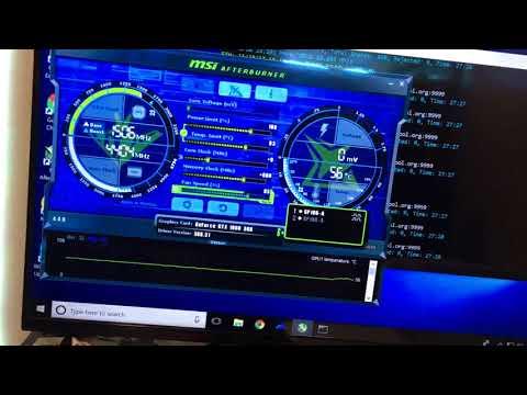 2x Gtx 1060 3gb 46 Mh/s Ethereum Mining!