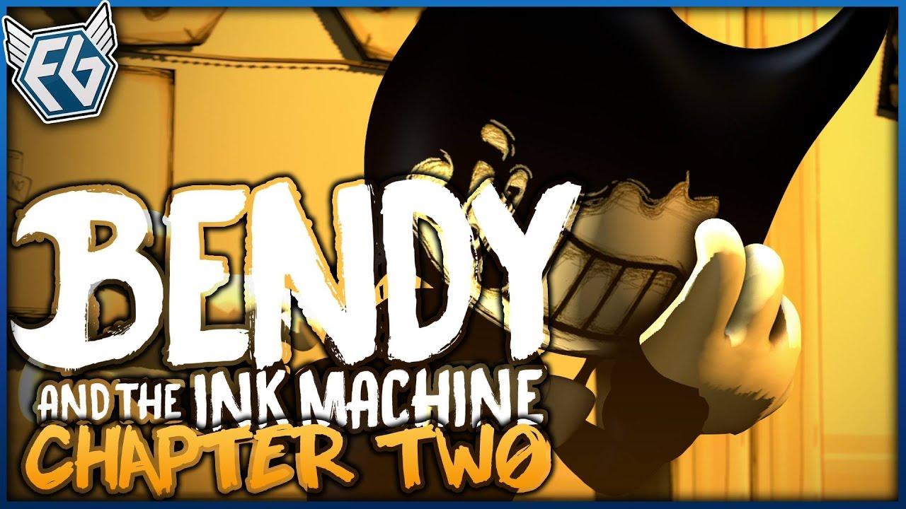 Český GamePlay | Bendy And The Ink Machine: Kapitola 2 ...