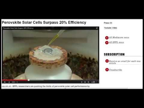 20% Efficiency For Cheap, Thin Film Solar Cells