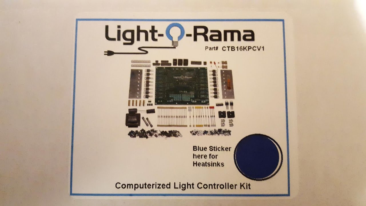 light o rama computerized christmas lighting controller diy kit build part 1unpacking youtube