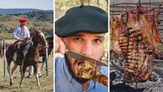 El MEJOR ASADO ARGENTINO La Fiesta Nacional del Asado en Cholila Patagonia Argentina