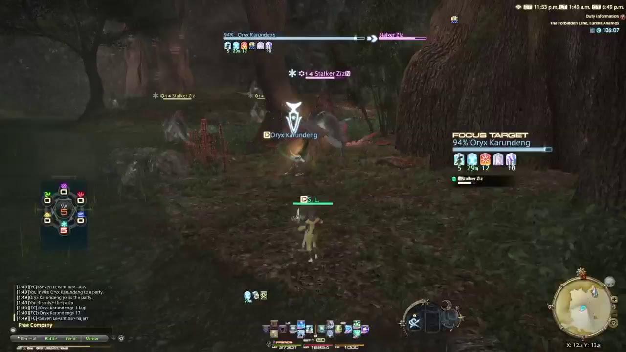 FFXIV: Eureka Leveling for Friend