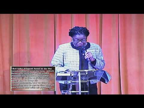 The Ways of the Lord and the Secret of his Presence - Dns Vaughan Adeola