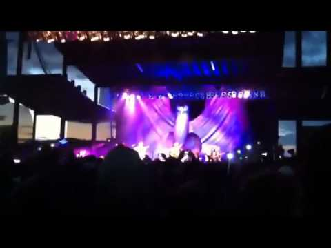 Tenacious D performing Wonderboy on 5.26.12 at Les Schwab Amphitheater in Bend, OR