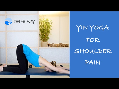 yin yoga for shoulder pain  youtube