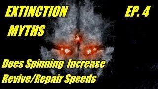 CoD: Ghosts Extinction myths! Ep 4 Spinning and Reviving/Repairing Increases Speed?  Origins of Myth