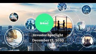 Linked Ventures Investor Spotlight December 17, 2020